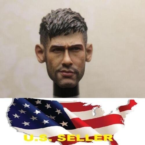 1//6 Neymar Head Sculpt Brésil Soccer pour HOT TOYS PHICEN headplay ❶ US Vendeur ❶