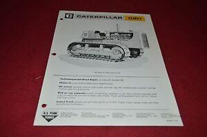 Caterpillar D9R Crawler Tractor Dozer Dealer/'s Brochure DCPA6
