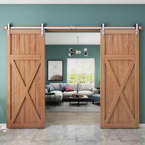 5-6-6-6-8-10-12-13ft-Modern-Interior-Stainless-Steel-Sliding-Barn-Door-Hardware
