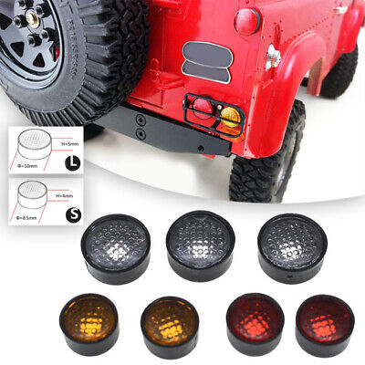 7PCS//Set Round Lamp Cups Lampshade For 4WD D90 3mm LED Lights 1//10 RC crawler