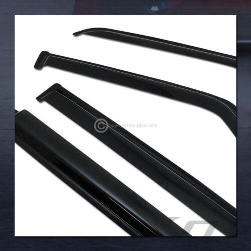 For 1984-2001 Jeep Cherokee Sun//Rain Guard Tint Shade Deflector Window Visors 4P