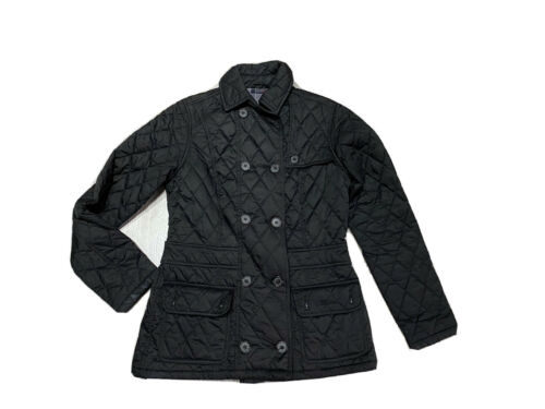 Womens Barbour Quilted Double Breasted Utility Jac