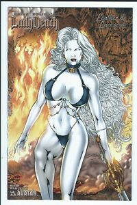 Avatar-Brian-Pulido-039-s-Lady-Death-Leather-amp-Lace-2005-Killer-Body-Variant-LTD1500