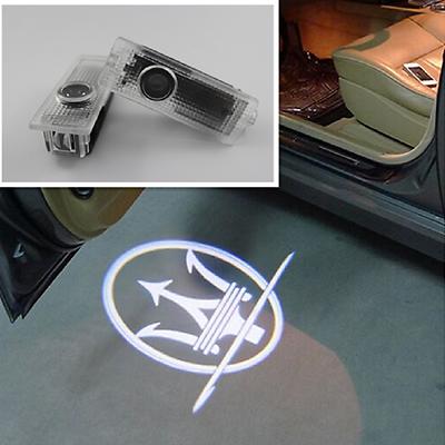 2x Ghost Shadow Projector Courtesy Door Light for Maserati Quattroporte Ghibli