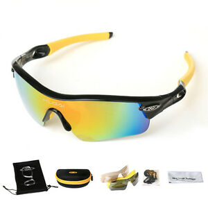 ee3a9446335 Image is loading CoolChange-Polarized-Bicycle-Cycling-Glasses-5-Lens-Eyewear -