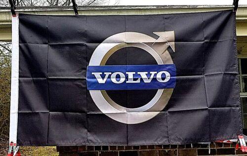 Advertising Volvo Logo Flag  3/'x5/' Vehicle Make Banner Car Sign