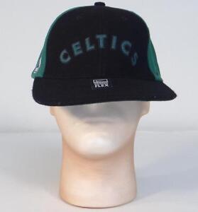 999d5cebad8079 Nike NBA Boston Celtics Green & Black Wool Blend Baseball Cap Adult ...