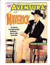 "Aventura No 151 1960 - Spanish - ""Reprint Of 1st App Of Maverick! """