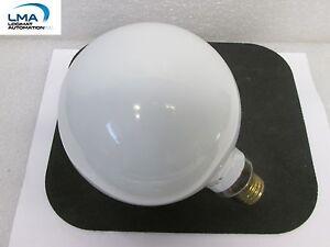 CGE-40W-WHITE-GLOBE-BULB-LIGHT-LAMP-115-125V-ROUND-NEW