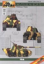 Trojca: PANZER V Panther Ausführung G - Panzerkampfwagen Pz.Kfw. V Modellbau NEU