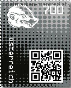Crypto-Stamp-2-0-Honigdachs-Schwarz-Postfrisch-AUSVERKAUFT