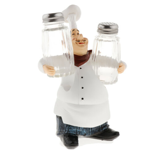 Italienischer Chefkoch Küchenchef Koch Figur Dekofigur Sammelfigur für