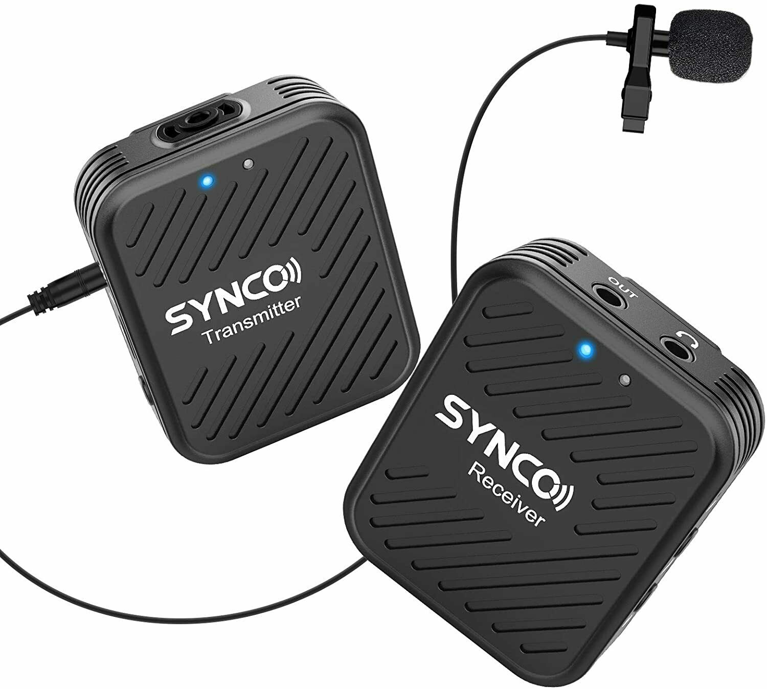 SYNCO G1(A1) Lavalier 2.4 GHz wireless microphone system For smartphone camera