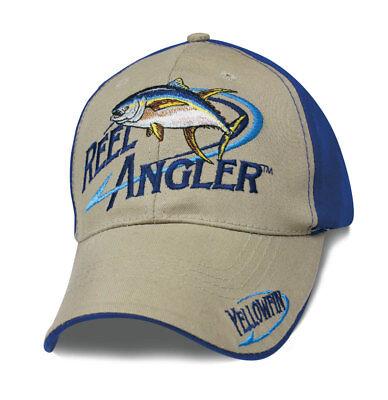 Angler Cap Kappe Mütze  Fishing Angeln Mütze Fischen Thunfisch Reel Angler