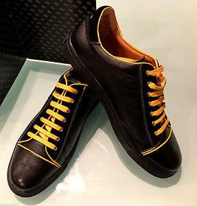 Black Couture Men's Shoes Italian Leather New Sport Billionaire 6WqFfv