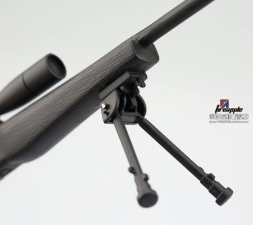 """1:6 Scale Weapon Toy Uncoated Black M40 Sniper Rifle Model  For 12/"""" Figure Doll"""