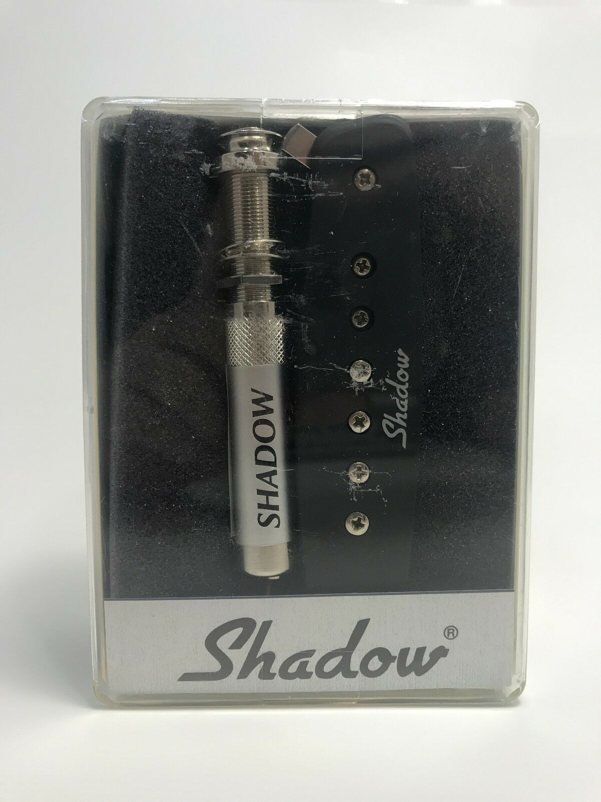 NEW Shadow Electronics, SH-141 Acoustic Guitar Sound Hole Mag w ActvElectr, 2006