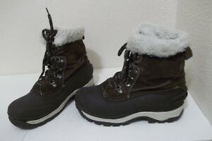fce01ae70a9 Image is loading MENS-FALLS-CREEK-SNOWDRIFT-BROWN-LEATHER-THINSULATE-WINTER-