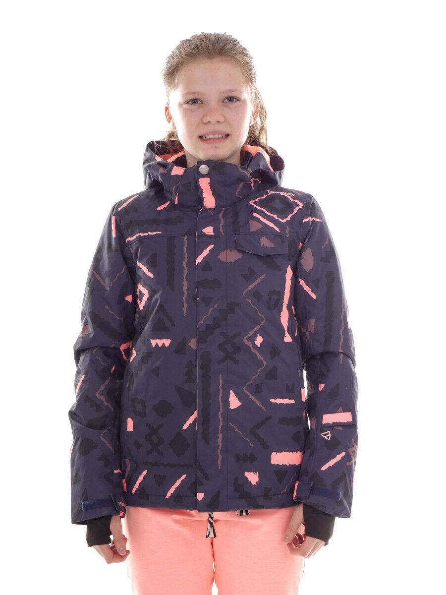 Brunotti giacca da sci invernale Neve blu LEDDY motivo RISCALdonnaTO