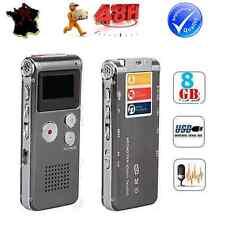 DICTAPHONE ENREGISTREMENT AUDIO CONVERSATION TELEPHONIQUE DECLENCHEMENT AUTO 8Go