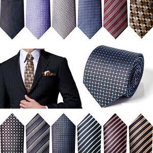 QUALIT-Business-Krawatte-Einstecktuch-Hochzeit-Schlips-Arbeit-Geschaeft