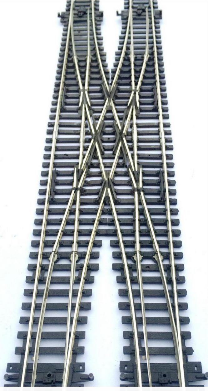 Peco double/scissor crossover point small. medium or large