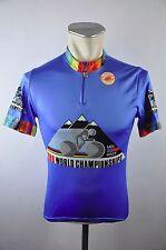 Castelli 1986 UCI vintage Radtrikot cycling jersey maglia Rad Trikot Gr. 2 J026