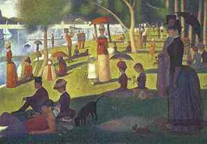 Seurat A Sunday Afternoon on the Island of La Grande Jatt Puzzle 1000 pcs Jigsaw