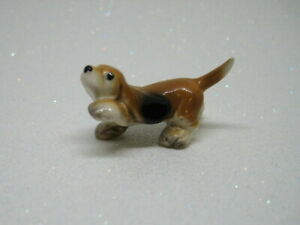 Hagen Renaker Early Mini Hound Dog Puppy