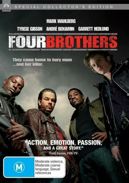 Four Brothers (DVD, 2006)B17-AP18-LIKE NEW