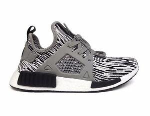 Adidas Men's ORIGINALS NMD_XR1 PK PRIMEKNIT Running Shoes Black/White BY1910 b