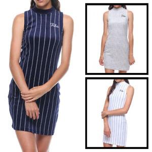 44c0019a6547 Image is loading NEW-FILA-WOMEN-Esme-Velour-Dress-LW181K66