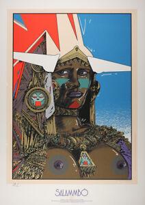 Affiche Sérigraphie Salammbo Salammbô