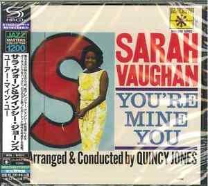 SARAH-VAUGHAN-YOU-039-RE-MINE-YOU-JAPAN-SHM-CD-C15