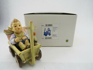 Vintage-Hummel-Goebel-633-034-I-039-m-Carefree-034-4-3-4-034-Figurine-TMK-7-w-Box