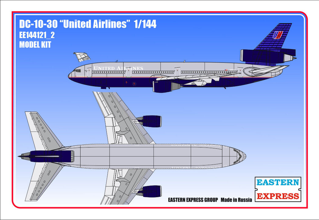 Eastern Express 1  144 DC -10 -30 United Airlines EE144121 Express 2
