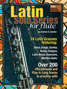 2019 DernièRe Conception Latin Solo Series For Flute Book/fichiers Audio-afficher Le Titre D'origine