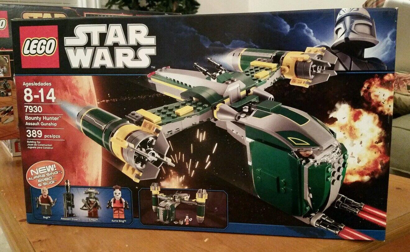 Lego Star Wars Bounty Hunter Assault combat 7930 Neuf Scellé
