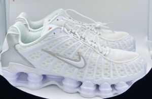 Details about Nike Shox TL Speed White Men's Size 12 Running Shoes