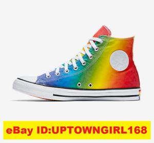 85f32532f4b6 Converse Chuck Taylor ALL STAR Hi Pride Geostar Shoes Rainbow LGBT ...