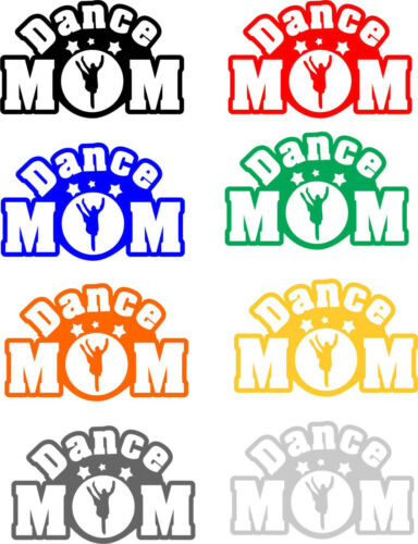 Various Size and Color Options USA Made Dance Mom Decal Free Shipping