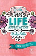Girls Life Application Study Bible NLT (2016, Paperback)