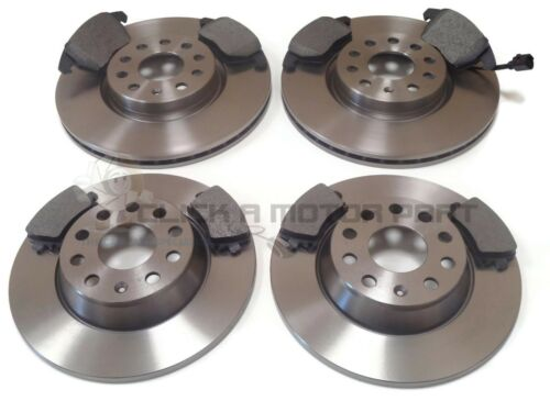 VW PASSAT 2005-2010 1.9 2.0 FRONT /& REAR MINTEX BRAKE DISCS /& PADS SET NEW
