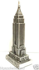 Pewter Empire State Building Statue Souvenirs from New York City 7 inch