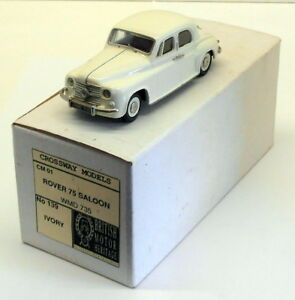 Crossway-Models-1-43-Scale-CM01-Rover-75-Saloon-Ivory