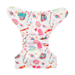 Insert U Pick ALVABABY Cloth Diapers One Size Reusable Washable Pocket Nappy