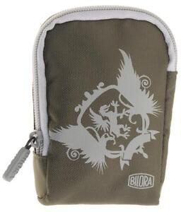 Bilora Style Bag Kamera Schutz Tasche in Grün für Canon IXUS 850 IS