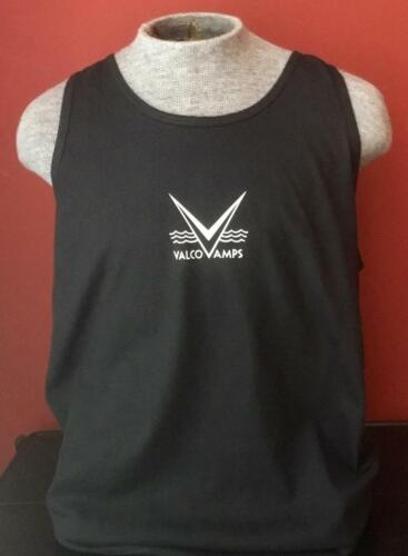 VALCO AMP TANK TOP BLACK IN SIZE XL and all other sizes