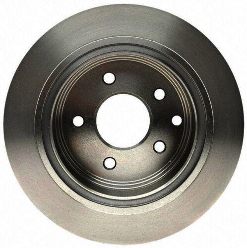 Disc Brake Rotor-Non-Coated Rear ACDelco Advantage 18A1321A