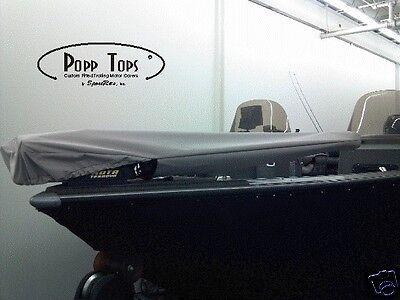 "Gray Minn Kota Trolling Motor Cover  By PoppTops Fits PowerDrive w//48/"" Shaft"